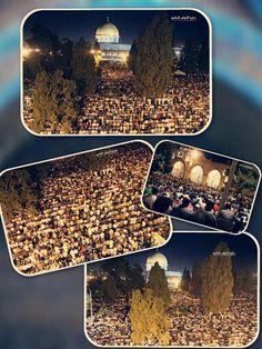 Upto 350,000 worshippers tonight for #Laylatul #Qadr at Masjid #Al-Aqsa in #Jerusalem, #Palestine. Masha'Allah  ☝  #freepalestine #freegaza #endtheoccupation #endseigefreegaza #wakeup #beheard #truthovermedia #gazaovermedia #laylatulqadr #ramadan