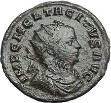 Tacitus Rare 275AD Ancient Roman Coin Fides Trust Cult i54894