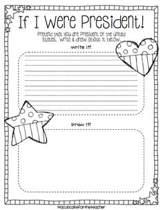 Presidents Day Kindergarten Worksheets president s day