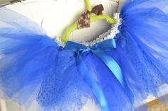 Royal blue child's tutu by ShuhpuppyAndDeppy on Etsy, $20.00