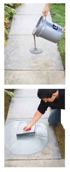 How to Resurface Worn Concrete from This Old House
