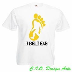 I believe in Bigfoot T-shirt - movies , gift ,Funny , I believe in Bigfoot!!!