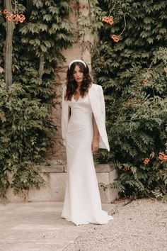 By Malina Bridal - Le rêve Francine, 2022 Wedding Dress Styles, Boho Wedding Dress, Bridal Gowns, Wedding Gowns, Gretna Green, Vogue Magazine, Bridal Collection, Marie, Wedding Inspiration
