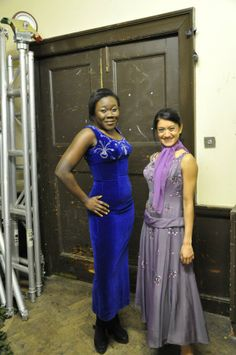 Cordelia and Selina model at the Glasgow University Fashion Show, with Calling All Hipsters Vintage on FB, <3 <3 <3