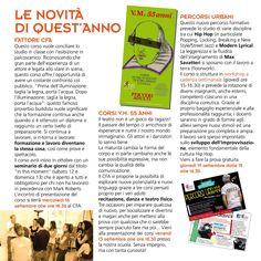 Brochure CFA_013/014 novità