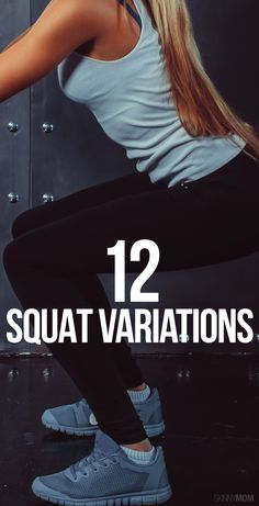 Spice up your squats! No equipment needed.