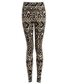 Free delivery available today - Shop the latest trends with New Look's range of women's, men's and teen fashion. Aztec Print Leggings, Printed Leggings, Tight Leggings, All About Fashion, Jeggings, Teen Fashion, New Look, What To Wear, Your Style