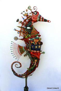 hippocampus, assembly, Gerard Collas, colas, art, margin