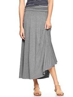 Foldover maxi skirt  Gap  $49.95