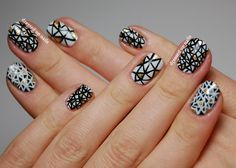 Now that I have my nail brushes, I know what design I'll be attempting this weekend.