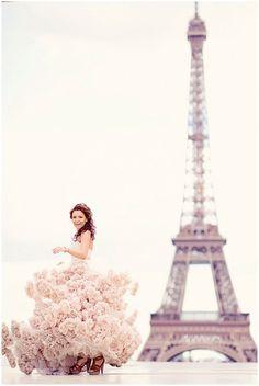 Wow!  Photo Session on Paris Honeymoon