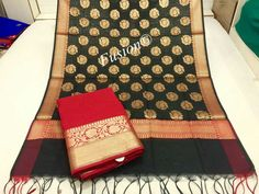 KASHI banarshi chanderi silk top and dupatta. Rich looking top and Dupatta in Abstract style design with silk salwar