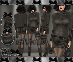 ✿☆ ¸. • * ¨ * • ☆NEW IN MY SHOP!!!☆ ¸. • * ¨* • ✿  ✮EN VOGUE SWEATER BUNDLE: http://www.imvu.com/shop/product.php?products_id=35724659  *Comes with sweater dress, handbag, and leg warmer boots.  ✿My Full Catty:  http://www.imvu.com/shop/web_search.php?manufacturers_id=95572994  ✿SellingBeauty Catty:  http://www.imvu.com/shop/web_search.php?manufacturers_id=102695625  ✿☆ ¸. • * ¨ * • ☆NEW IN MY SHOP!!! ¸. • * ¨* • ☆✿