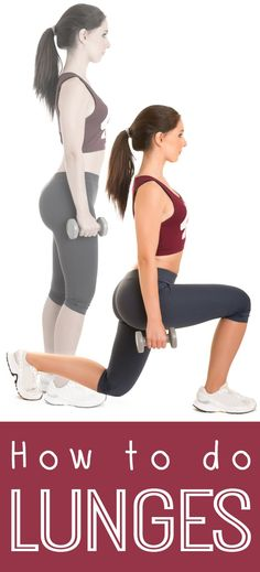 How to do Lunges ~ http://healthpositiveinfo.com/how-to-do-lunges.html