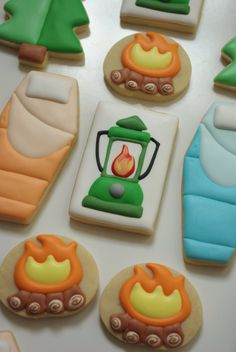 Halloween Coffin Cookie Cutter as a Sleeping Bag for Camping or Sleep Over Parties