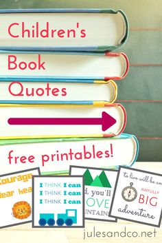 Free Printable Children's Book Quotes