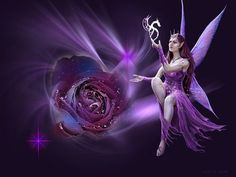 anne stokes art with different background added