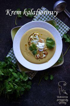 Kulinarne przygody Gatity: Indyjska zupa krem  z kalafiora