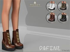 Madlen Dafine Shoes y MJ95 at TSR • Sims 4 Updates