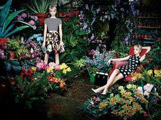 Alice + Olivia Reveals Botanical Spring/Summer 2014 Campaign
