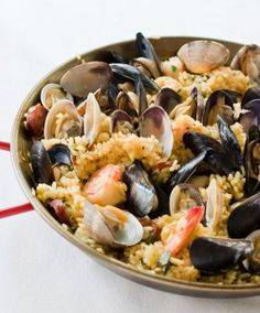 Seafood Paella (Paella!!!)