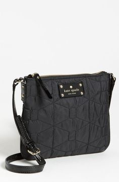 Signature Spade Quilted Tenley Crossbody Bag - Lyst