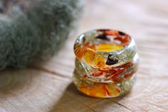 Resin Terrarium Rings By AlpacaBlue On Etsy *More Things & Stuff