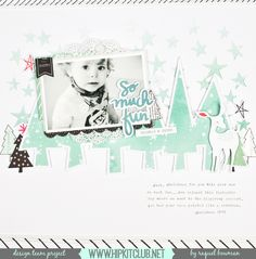 The Hip Kit Club Monthly Scrapbook Kit Club offers the best monthly Embellishment, Paper, Cardstock, Project Life and Color Scrapbook Kits! Scrapbook Titles, Scrapbooking Layouts, Scrapbook Cards, Scrapbook Journal, Wedding Scrapbook, Baby Scrapbook, Hip Kit Club, Snow Much Fun, Christmas Scrapbook