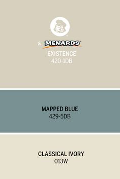 Dutch Boy®'s December Color of the Month, Existence 420-1DB, is a warm, calming neutral inspired by soft winter landscapes. Pair it with Mapped Blue 429-5DB and Classical Ivory 013W for a clean, relaxed look.