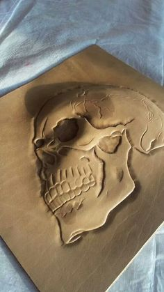 Leather skull process-4