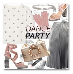 """""""Holiday Dance Party"""" by voguefashion101 ❤ liked on Polyvore featuring Lord & Taylor, Miss Selfridge, Miu Miu, L.K.Bennett, Valentino, Alice + Olivia, Humble Chic, Christian Dior, Winter and Christmas"""