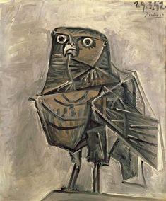 Pablo Picasso – Owl, 1952 #Picasso