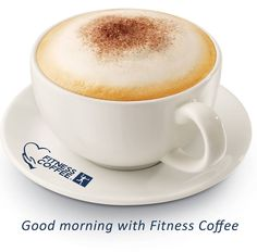 Good morning with #fitnesscoffee