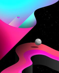 ARTONCE Graphic Design Posters, Graphic Design Illustration, Graphic Design Inspiration, Illustration Art, New Retro Wave, Retro Waves, Vaporwave Art, Web Design, Modelos 3d