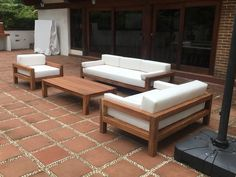 Outstanding Diy Sofa Design Ideas You Can Try 04 Diy Outdoor Furniture, Wooden Furniture, Outdoor Sofa, Furniture Design, System Furniture, Furniture Ideas, Antique Furniture, Furniture Stores, Out Door Furniture