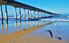 Ocean Beach Pier in San Diego, CA