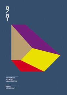 B/NT, book logement © Général Design