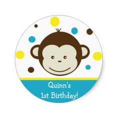 >>>Low Price Guarantee          	Mod Monkey Birthday Party Sticker Label Boy Kid           	Mod Monkey Birthday Party Sticker Label Boy Kid today price drop and special promotion. Get The best buyReview          	Mod Monkey Birthday Party Sticker Label Boy Kid Review on the This website by cli...Cleck Hot Deals >>> http://www.zazzle.com/mod_monkey_birthday_party_sticker_label_boy_kid-217683967334278107?rf=238627982471231924&zbar=1&tc=terrest