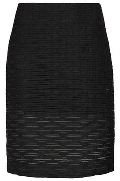 Classic Black Pencil skirts are always welcome in my closet, #Unique #Topshop