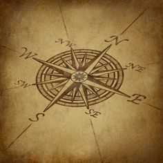 Compass Rose In Perspective With Old Vintage Grunge Texture Representing.. Royalty Free Stock Photo, Pictures, Images And Stock Photography. Image 10945969.