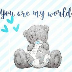 Teddy Bear Quotes, I Love You Means, Cute Winnie The Pooh, Cute Love Wallpapers, Teddy Bear Pictures, Blue Nose Friends, Need A Hug, Tatty Teddy, Cute Teddy Bears