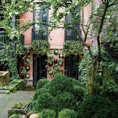 Um jardim para cuidar: Jardim da Julianne Moore em Nova Iorque..