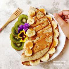 panqueca de aveia com banana