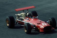 Chris Amon (Ferrari) Grand prix d'Italie - Monza 1968