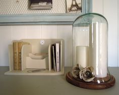 display cloche and stand from rosie's armoire