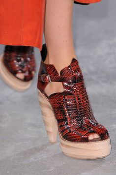 From Simple to Outrageous, NYFW's Runway Shoes Are Here:  Proenza Schouler Spring 2014