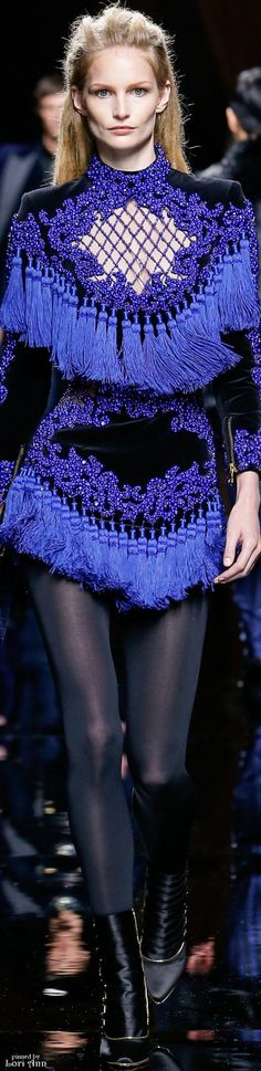 Balmain from Menswear Fall 2016