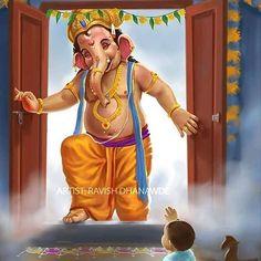 Ganpati bappa moriya 🙏 ❤️ 🙏 🙏 #mahadev #mahakal #bholebaba #bholenath #bambambhole #bambambholey #shivaji #shivaay #shiva #lord #lordshiva…