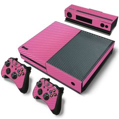 From HelloDefiance.com  http://www.hellodefiance.com/products/pink-carbon-fiber-skin-xbox-one-protector-1?utm_campaign=social_autopilot&utm_source=pin&utm_medium=pin