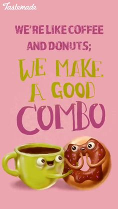 Funny Food Memes, Food Jokes, Funny Puns, Food Humor, Funny Quotes, Coffee Puns, Coffee And Donuts, Coffee Humor, Coffee Quotes